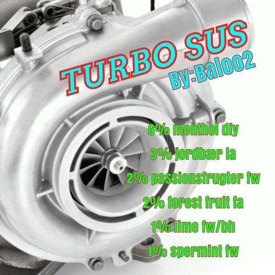 <b>Turbo sus</b><br /><b>Baloo2</b> har tilladt at vi må bruge hans opskrifter.
