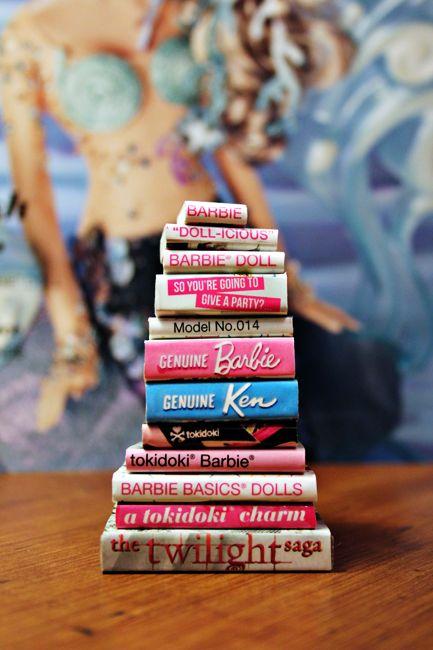 DIY Easy Cutter Books for barbie dolls