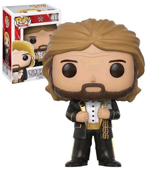 Funko POP! WWE #41 Million Dollar Man Ted DiBiase. New, Mint. #FunkoPop #WWE #Collectibles