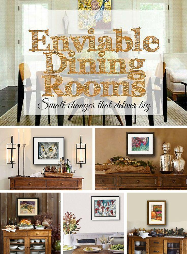 19 best dining room decor images on pinterest bedroom for Dining room decorating ideas pinterest