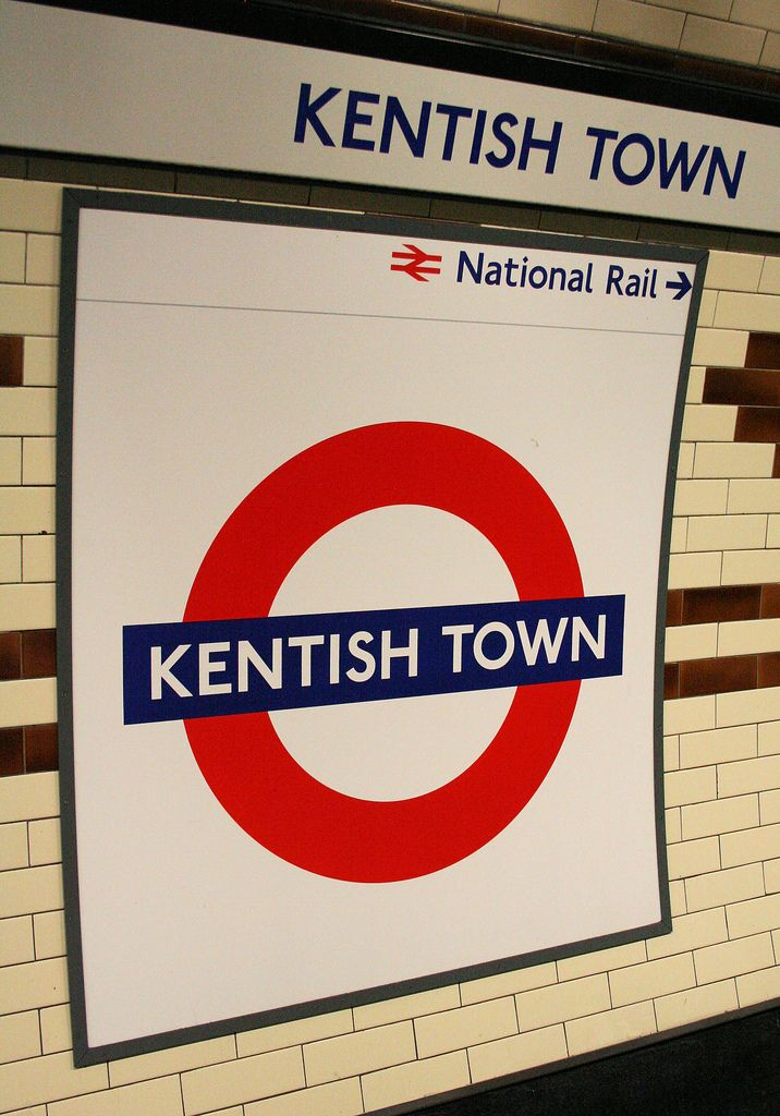 Kentish Town London Underground Station in London, Greater London