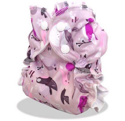 applecheeks envelop cloth diaper cover - love