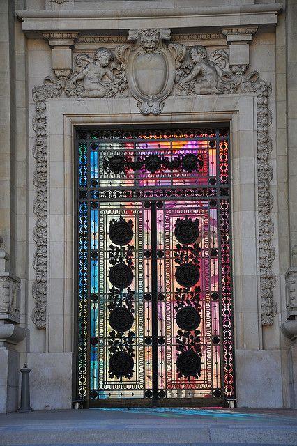 Door of Grand Palais