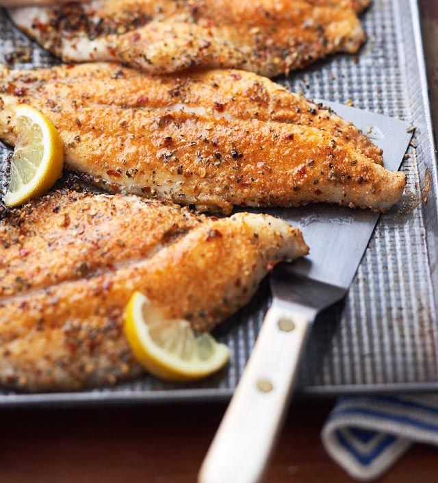 Cajun-Flavor Catfish from the Better Homes and Gardens Must-Have Recipes App