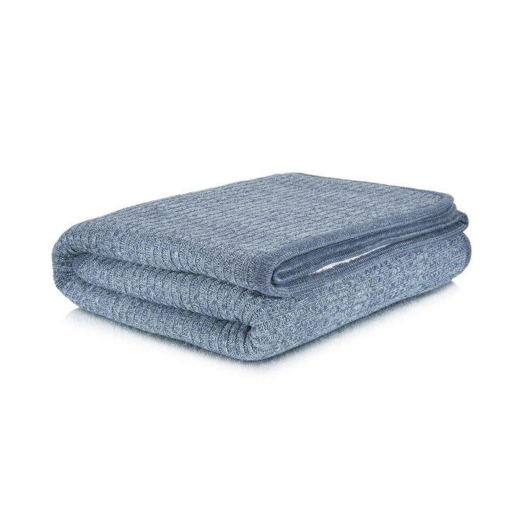 Sherpa Knit Throw