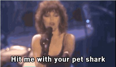Hit Me with your Best Shot , Pat Benetar. | 16 Times That Misheard Lyrics Were Way Better Than The Original Ones