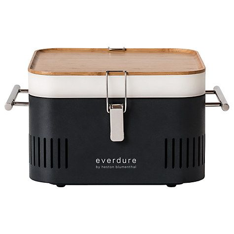 Buy everdure by heston blumenthal CUBE™ Portable Charcoal BBQ Online at johnlewis.com