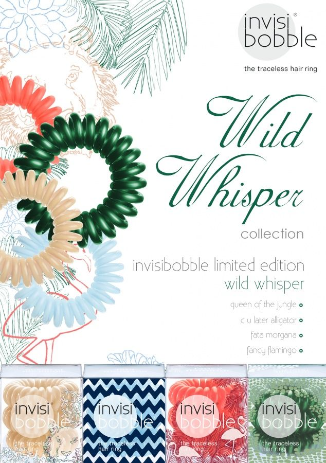 NEW Limited Addition WILD WHISPER Collection Invisi Bobbles NOW available at Francesco Group Newport, Shropshire 01952 825821  £3.95 per pack