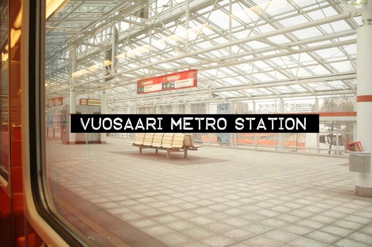 Vuosaari metro station / Helsinki