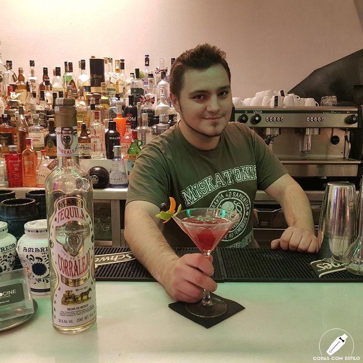 """Un gran cóctel sin duda este """"Amarena Pepper"""" del bartender Diego Martín.    #CopasConEstilo #Bartender #Cocktail #Coctelería #Cóctel #Cócteles #Madrid"""