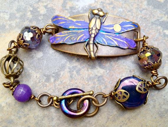 Charm Bracelet - Dragonfly Copper Patina by VIDA VIDA qrx4cBQ