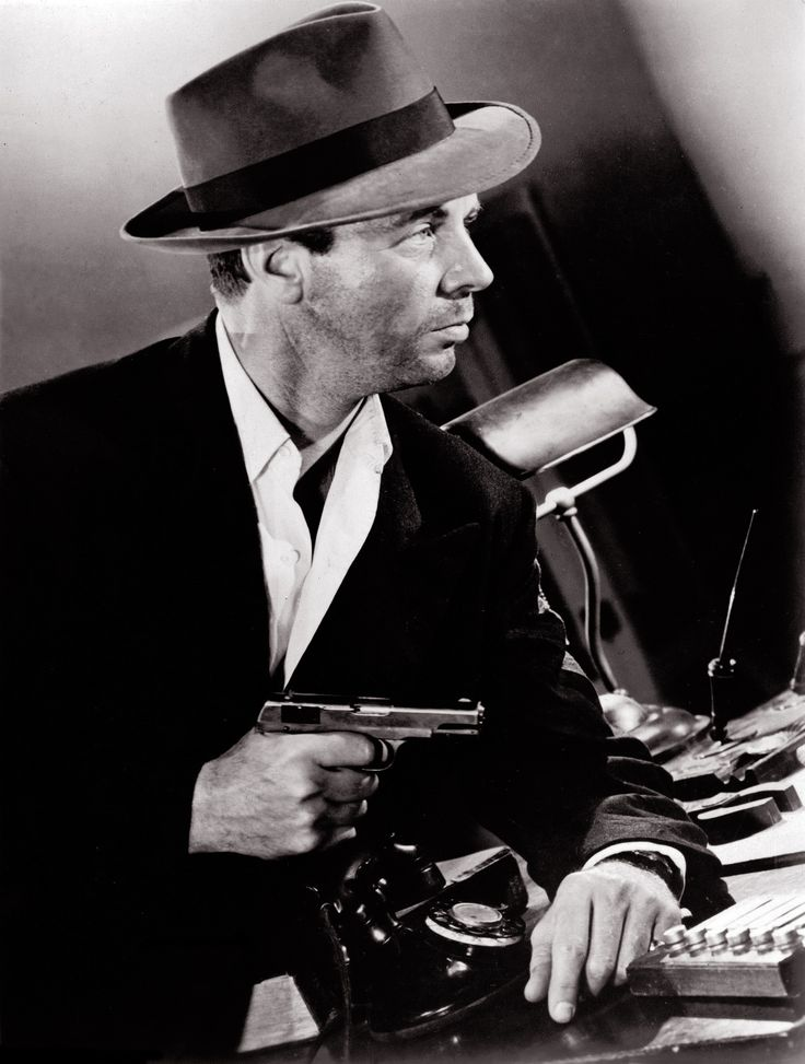 The particular gold colored period of flick noir
