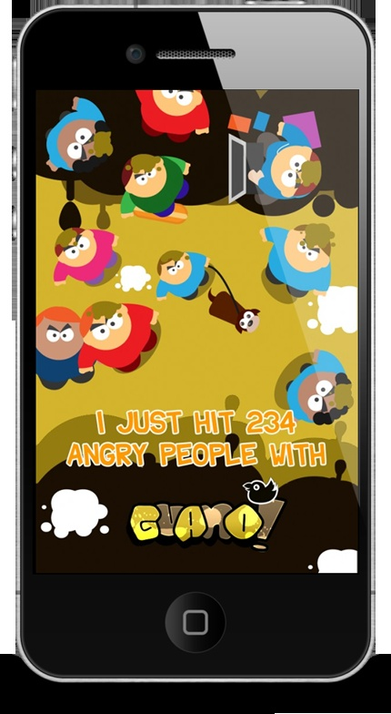 Guano Birds Targeting Game for iPhone and iPad (hilarious)