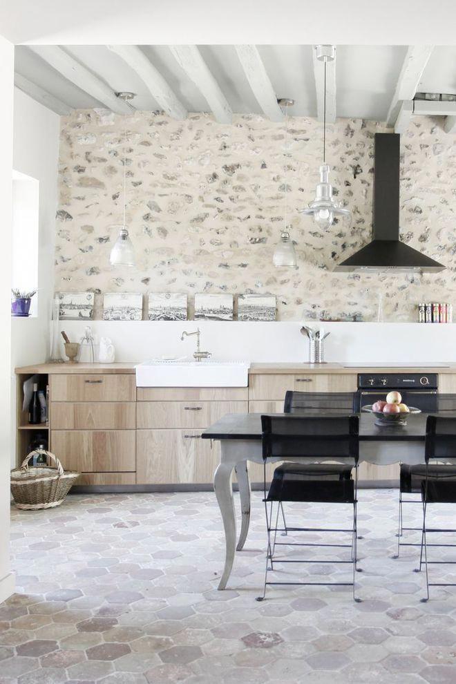 Genial Une Cuisine De Campagne à La Déco Moderne #Décorationmaison | Décoration  Maison | Pinterest