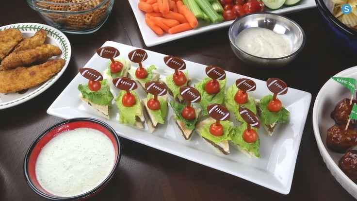 Tailgate Recipe: Mini Gyro Sliders With Homemade Tzatziki Sauce