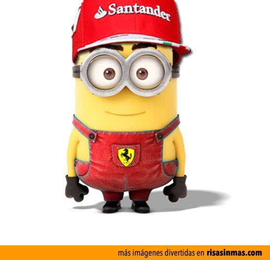 Minion Fernando Alonso.