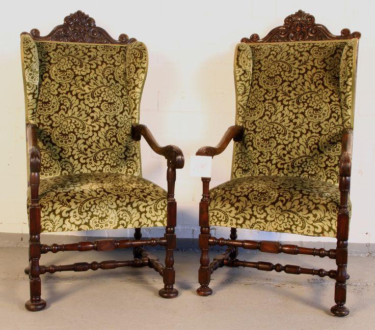 8 best Antike Sessel images on Pinterest | Antike sessel, Nussbaum ...