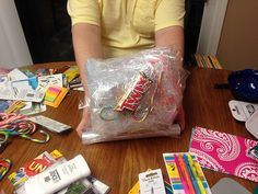 Plastic Wrap Christmas: Big Kid Fun