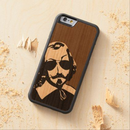 Quebec Samuel de Champlain 1608 French Signature Carved Cherry iPhone 6 Bumper Case - diy cyo personalize design idea new special custom