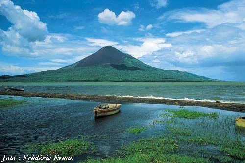 The Momotombo Volcano, Nicaragua