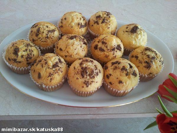 Jablkové muffinky
