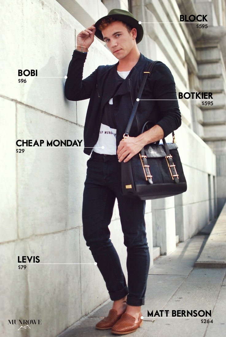 Personal style blogger Justin Livingston of Munrowe ...