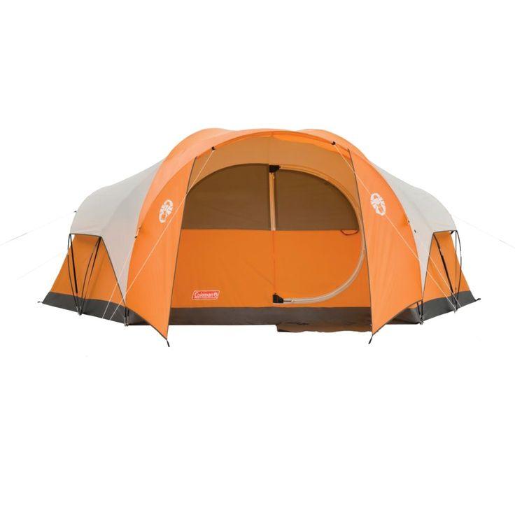 Coleman Bayside 8-Person Tent, Orange | 8 person tent ...