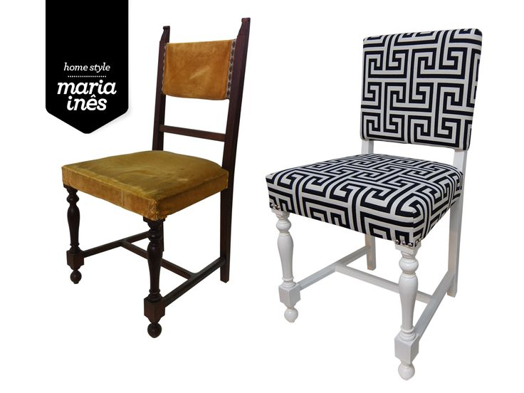 Uma cadeira da rua, que agora acomoda os Clientes que me visitam no atelier. Reciclagem para mim.