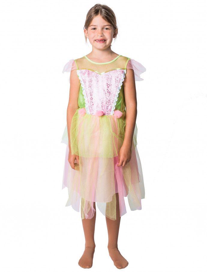 11f6ce7438d Kleid Fee Kinder grün rosa für Karneval   Fasching » Deiters  Mädchen  Kleid   dress  girl  Fee  grün  rosa  tüll  Kinder …