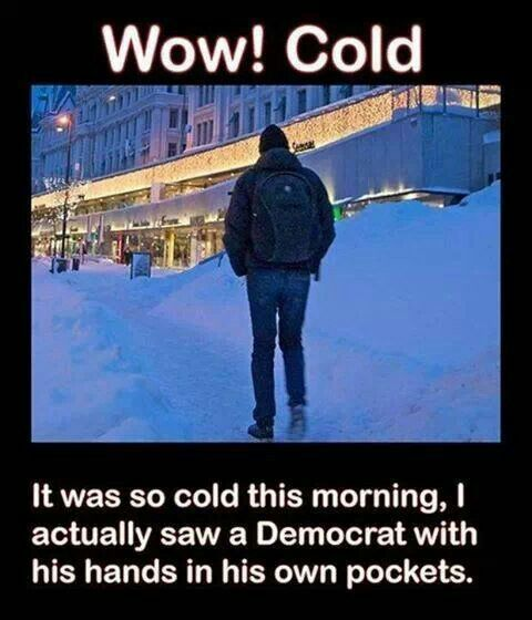 It was so cold!