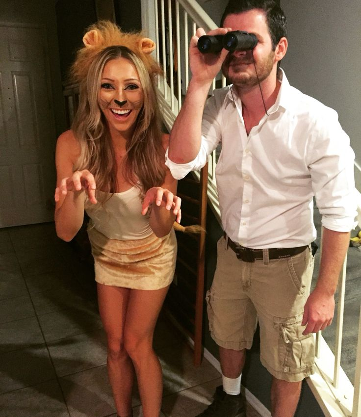 Couple costume Lion costume