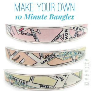 Tutorial: DIY Printed Art Nunn Design® Bangle Bracelet ~ Monica's 10-Minute Method ~ Waterproof   Ikumihimo