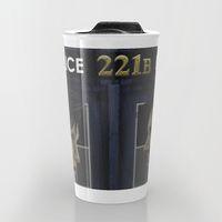 Travel Mug featuring Wholock by Mascmallow