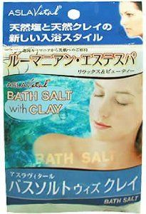"""Basusorutouizukurei Asuravitaru (each capsule into 1) by ASLA Vital. $45.09. Net weight: -1 capsule bath salts (50g), Clay for bathing -1 capsule (30g). 1 day. Size: 100 * 160 (mm). Japanese retail packaging ( Manual and instruction, if any, are in Japanese only. ). """"Basusorutouizukurei Asuravitaru (each capsule into 1)"""" is a Bath salts which you can use the product in a bath with the Bath salts and clay, each package made from romania. Bath salts is rich in mineral and rock s..."""
