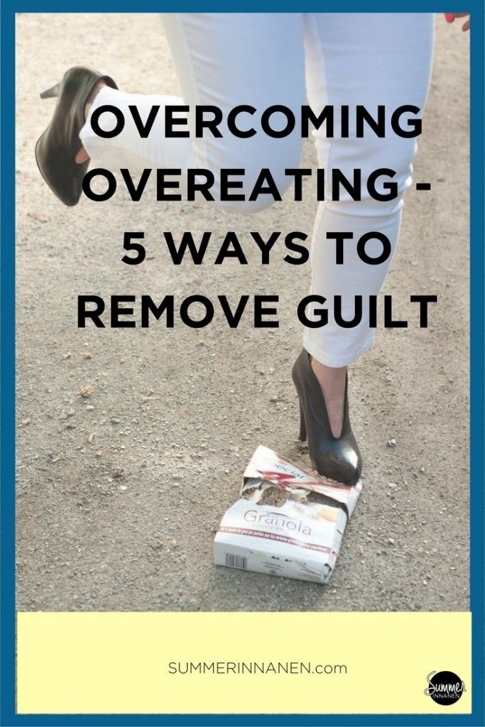 In the last post, I was talking about the most important thing you need to remove from your diet in order to overcome overeating: guilt. Today, I talk about 5 ways to minimize guilt.  #intuitiveeating #haes