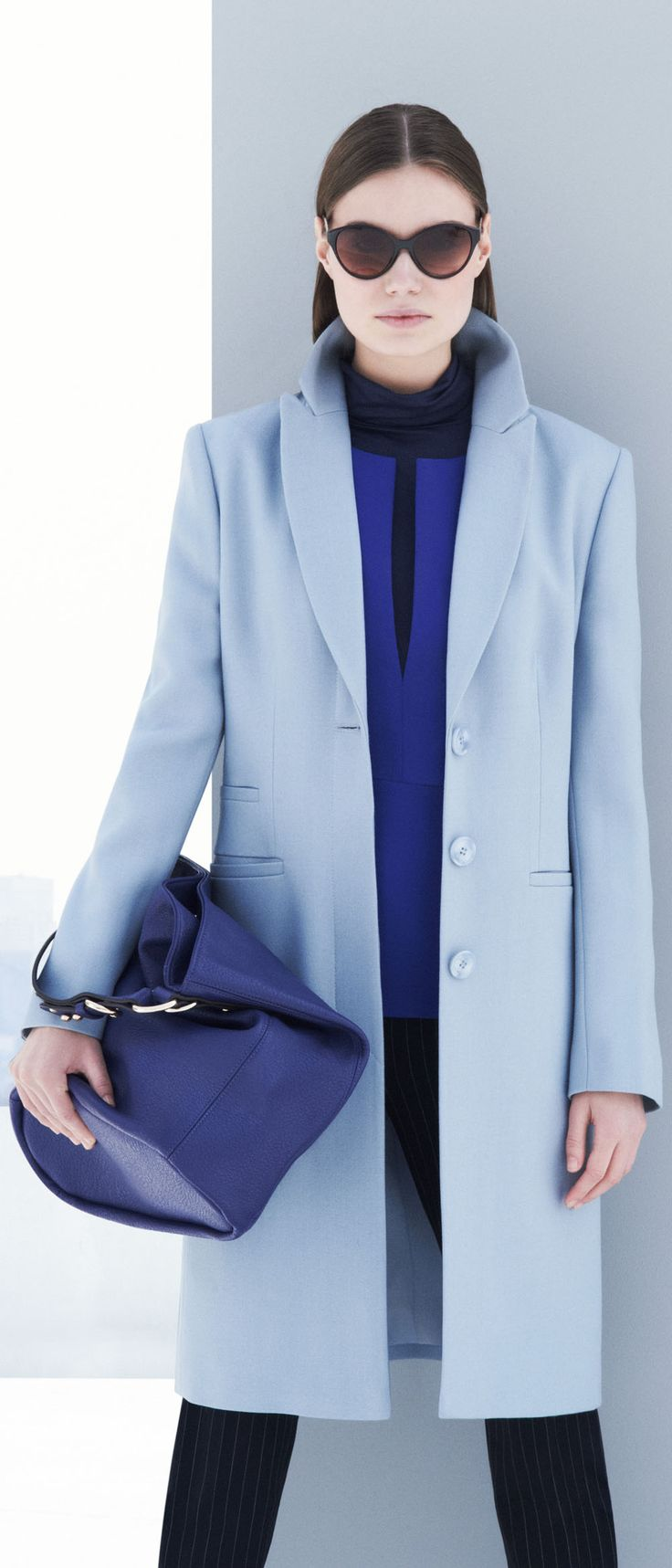How to wear Kate Middlton blue - click to read
