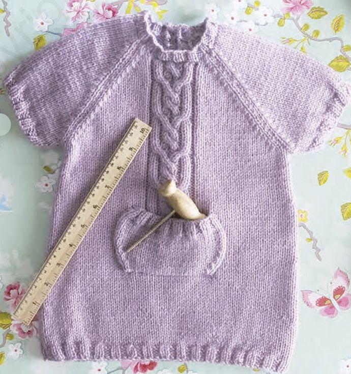 patrón gratuito ropa bebé de lanas katia