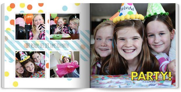 free shutterfly book birthday