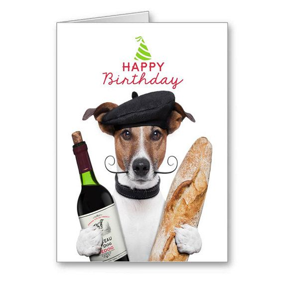 Greetings Cards-Happy Birthday Cards-Dogs-Jack By
