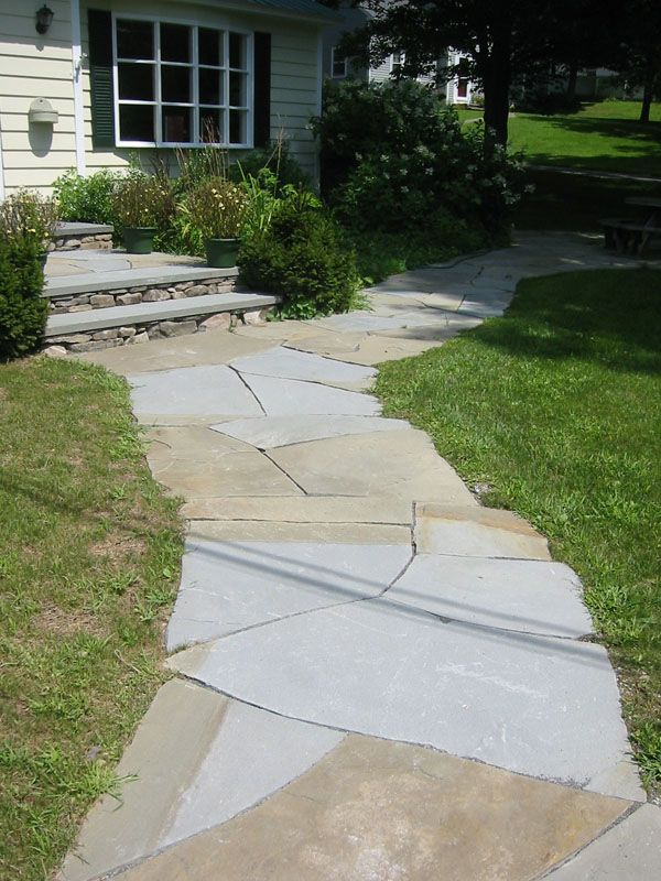 21 best images about flagstone paths walkways on Natural stone walkways