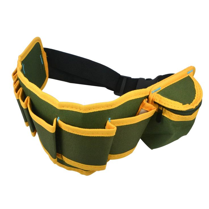 2016New Arrival Multifunction Durable Hardware Mechanics Canvas Tool Bag Safe Belt Pouch Utility Kit Pocket Pouch Organizer Bags