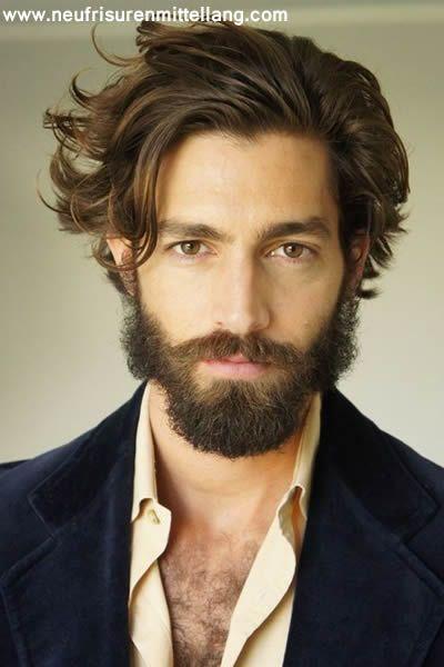 2016 Mittellange Haare Männer | Frisuren Mittellang , Kurzhaarfrisuren , Bob Frisuren