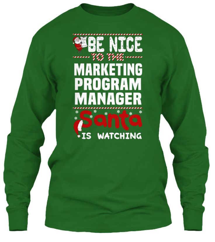 Be Nice To The Marketing Program Manager Santa Is Watching.   Ugly Sweater  Marketing Program Manager Xmas T-Shirts. If You Proud Your Job, This Shirt Makes A Great Gift For You And Your Family On Christmas.  Ugly Sweater  Marketing Program Manager, Xmas  Marketing Program Manager Shirts,  Marketing Program Manager Xmas T Shirts,  Marketing Program Manager Job Shirts,  Marketing Program Manager Tees,  Marketing Program Manager Hoodies,  Marketing Program Manager Ugly Sweaters,  Marketing…