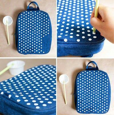 Decora tu mochila para el regreso a clases