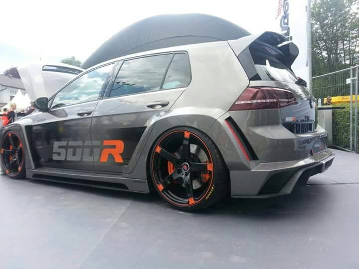 VW Golf (7) 500R. Awesome car.