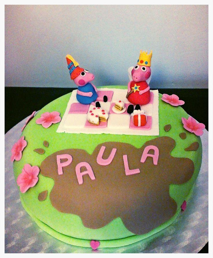 Dulcetendencia Pepa pig cake, Yummy!!!
