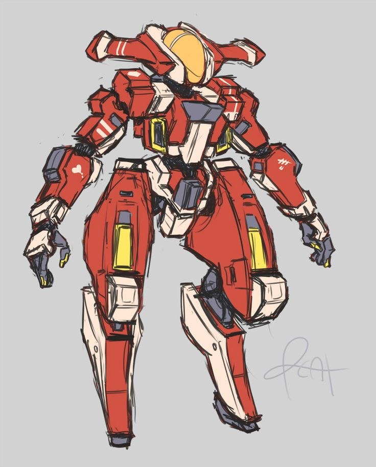 gear to thigh ratio by pizzacat sf mechs and robotics