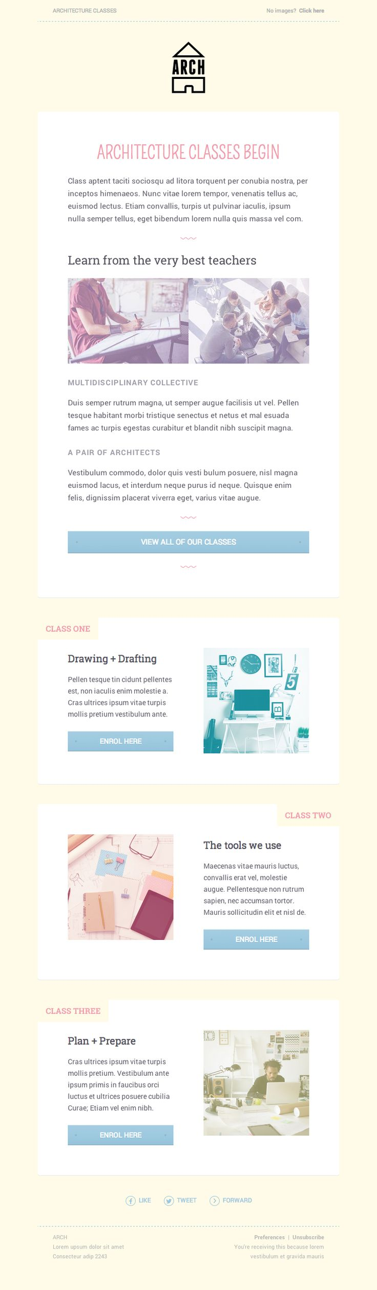 HTML email templates for free | Campaign Monitor Build a free HTML email template in just 60 seconds.  Choose one of the designs below to get started.