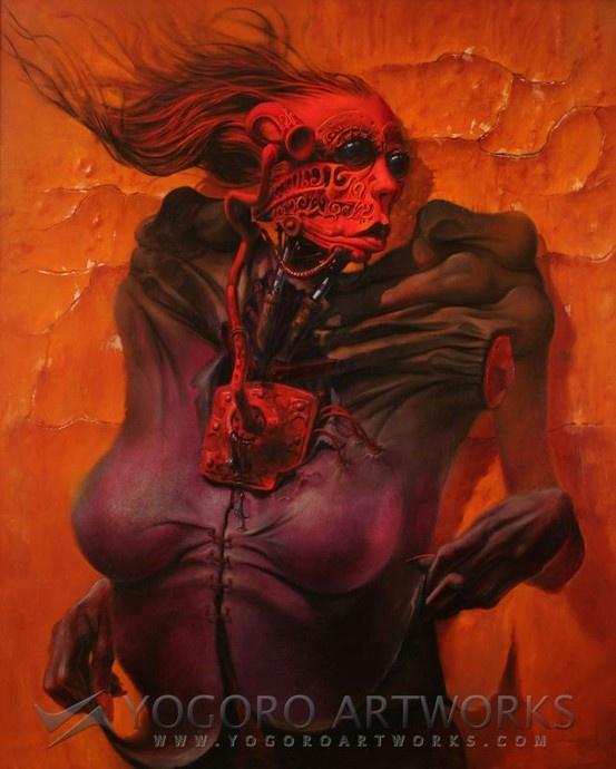 Max sauco erotic surreal digital art