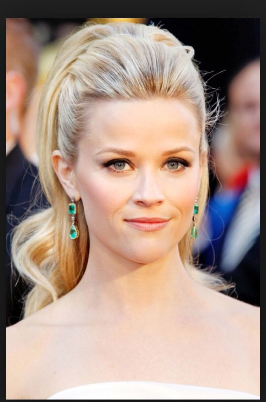 33 best bridal hair updos and wedding hair accessories images on reese witherspoon half updo hairstyle beautiful with crown on wedding day pmusecretfo Gallery